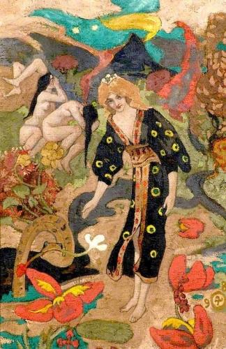 John McKirdy Duncan (1866-1945)   A Sorceress, 1898 ~ .jpg