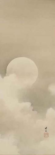 Kikuchi Hōbun Moon in snow.jpg