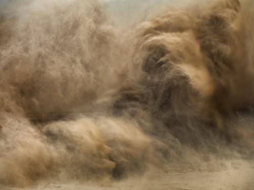 edward burtynsky Barrage de Xiaolangdi Yellow River, Henan Province, China, 2011.jpg