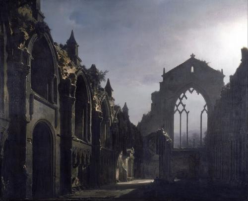 Louis Daguerre ruine d'Holyrood chapel 1824.jpg