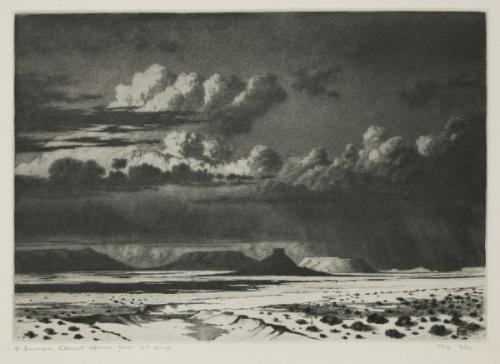 George Elbert Burr, Arizona clouds 1921.jpg