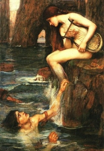 John William Waterhouse A mermaid 1901.jpg