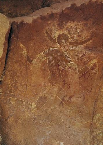 The Lady of Aouanrhet Tassili-n-Ajjer in southeastern Algeria.jpg
