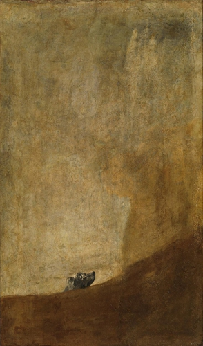 Francisco de Goya Le chien_o.jpg