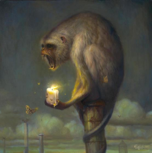 Martin Wittfooth-candle-for-orphans.jpg