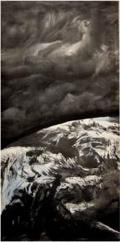 Zhou Gang La Naissance du Monde Terre Triptyque 1993 2003.jpg