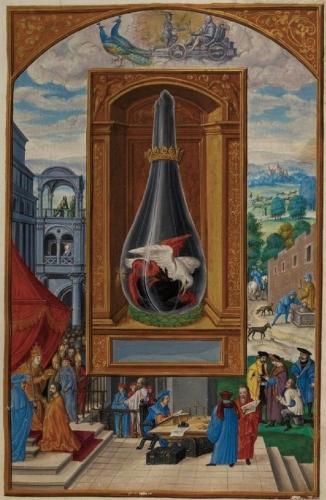 Auteur anonyme - Le Splendor Solis - Traité alchimique manuscrit allemand - 1582 (4).jpg
