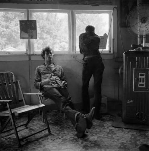 Larry Fink, Turk and Randy, Beatniks, Angel of Death, Missouri, 1958.jpg