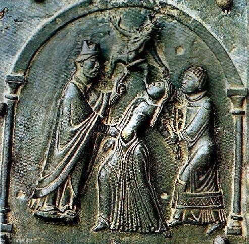 Exocisme. scene in bronze of the eleventh century (Church of San Zeno, Verona)._n.jpg