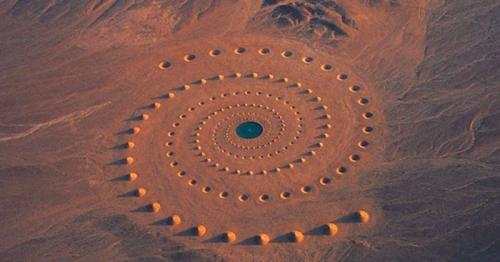 Desert Breath  Land Art project by D.A.ST. Arteam près de la mer rougz égypte 1997-1.jpg