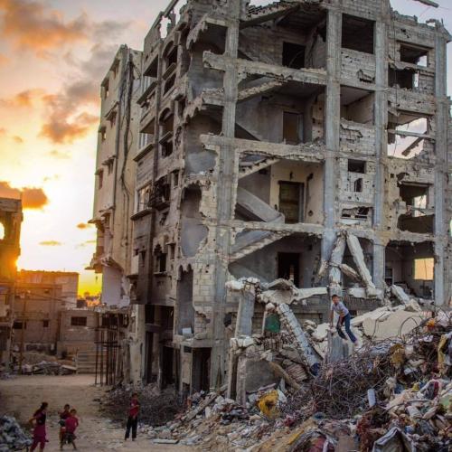 Wissam nassar Gaza, Palestine 28 March 2016 immeubles détruits l'été 2014 par offensive israel.jpg