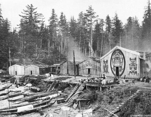 Edward Dosseter Kwakiutl Village, 1881.jpg