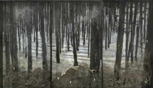 Anselm Kiefer, Winterland, 2010,.png