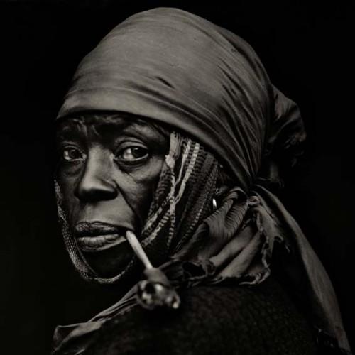Dana Gluckstein _Woman Haiti 1983.jpg