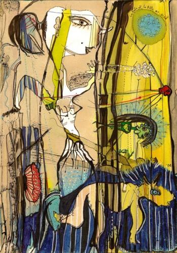 Bruno Montpied – La Belle et la Bête au pied.jpg