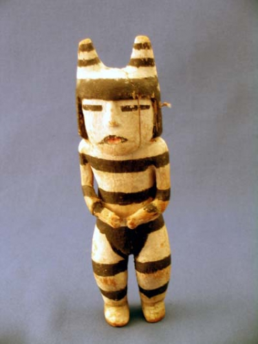 Koyaala, or Hano clown, 19th century Koshare Kachina fetish.jpg
