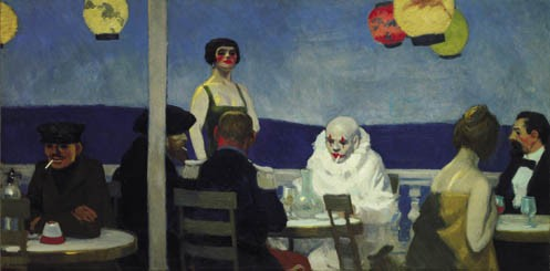Edward Hopper, « Soir Blue », 1914.jpg