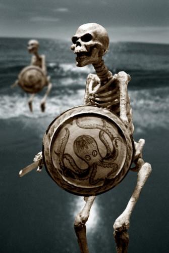 Ray Harryhausen maquette squeleton du film jason et les argonautes .jpg