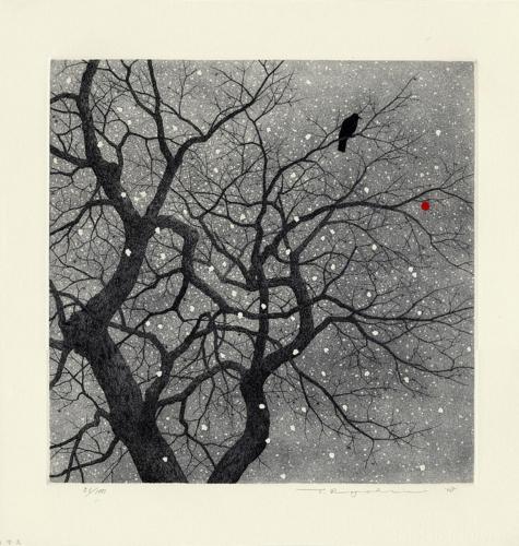 Tanaka_Ryohei snow and crow.jpg