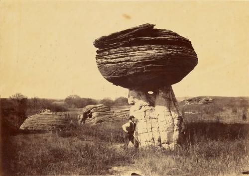 Alexander Gardner Mushroom Rock on Alum Creek, Kansas, 1867 .jpg