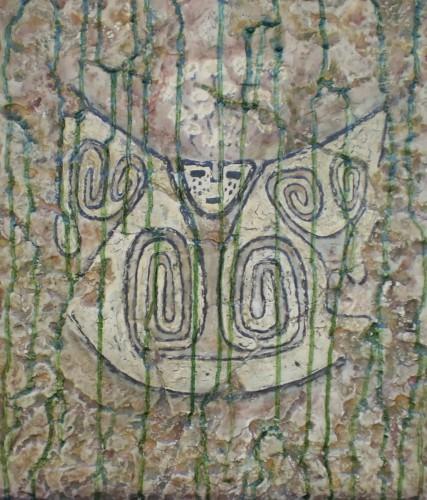 Escutiforme Cultura Santa María 900-1000 a 1480 dC précolombien .JPG