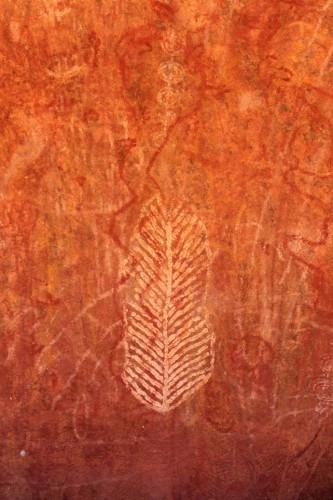 Aboriginal rock art on Uluru, Australia.jpg