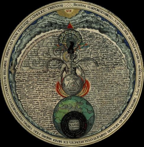 Heinrich Kuntrath Amphitheatrum Sapientiae Aeternae _-_The_hermaphrodite.jpg