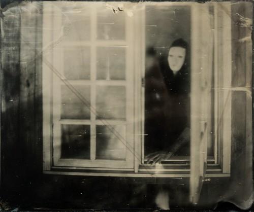 Ben Warner travail au collodion humide avec Monty McCutchen, 2013.jpg