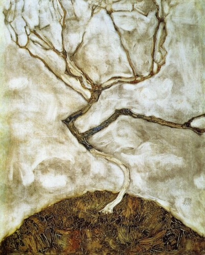 Egon Schiele  A Tree in Late Autumn,.jpg