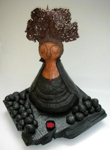 françoise cuxac rêveuse aux marrons noirs.jpg