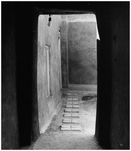 todd webb Door to Patio, O'Keeffe's House, Abiqui, New Mexico, 1981.jpg