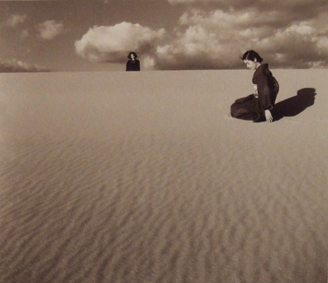 Shoji Ueda my wife in the dunes IV 1950.png