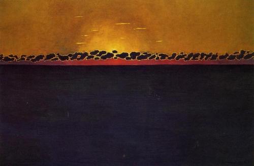 felix vallotton-sunset-gray-blue-high-tide.jpg