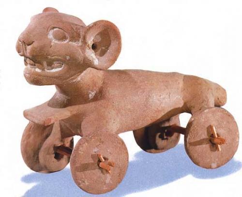 olmèque jouet pour enfants dit chiens à roulettes_roue.jpg