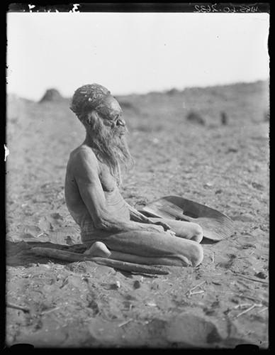 Dr herbert basedow Kai Kai, a Western Arrernte man, Henbury station, Northern Territory 1920.jpg