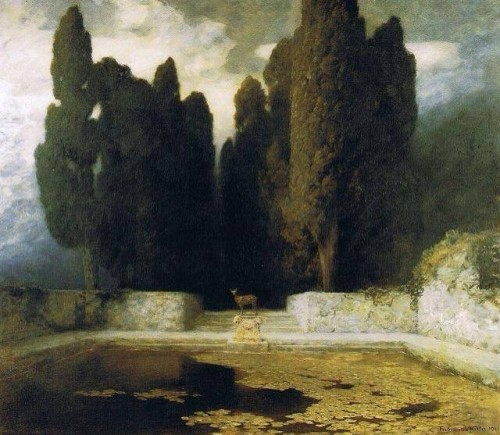 Ferdinand Keller, the pool 1911.jpg