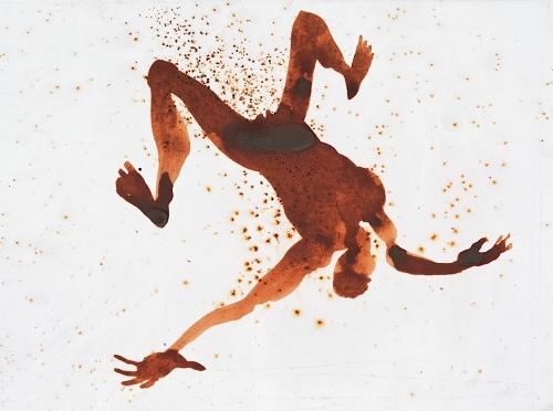Antony Gormley - De la série Connection - Aniline dye (1).jpg