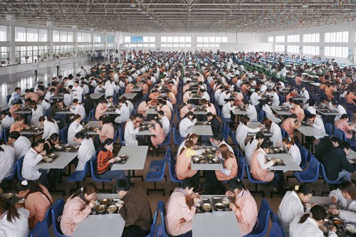 Edward Burtynsky Youngor Textiles, Ningbo, Zhejiang Province, China, 2005.jpg