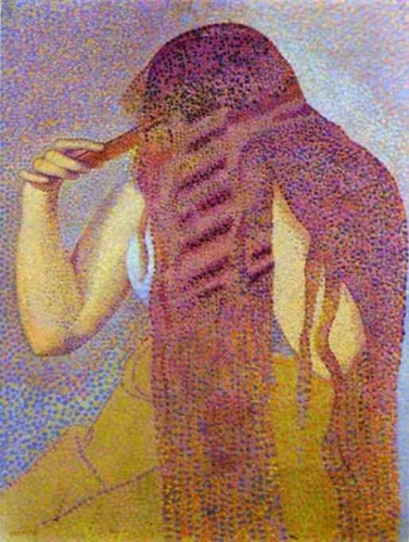 Henri-Edmond Cross La chevelure.jpg
