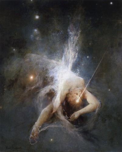 Witold Pruszkowski Spadajaca gwiazda Falling Star 1884.jpg