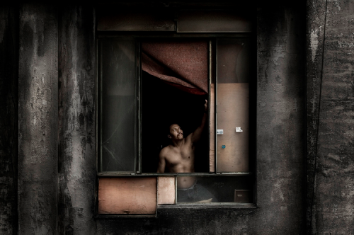Julio Bittencourt, From series In a Window of Prestes Maia 911 Building.png