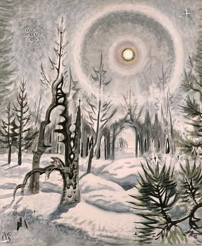 CHARLES E. BURCHFIELD Winter Moonlight (1951).jpg