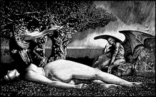 """Barry Moser """"Lucifer contemplates Eve""""0.jpg"""