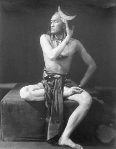 Henri Berssenbrugge_Raden Mas Jodjana en el papel de Shiva, 1923.jpg
