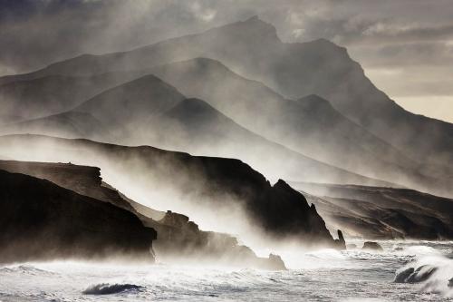 Horst Fischer, A Coastline of Fuerteventura.jpg
