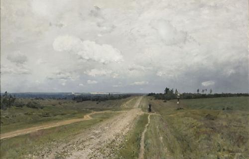 Isaak Ilich Levitan -The Vladimir Road.jpg