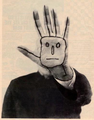 Saul Steinberg Last Self-portrait c.1998.png