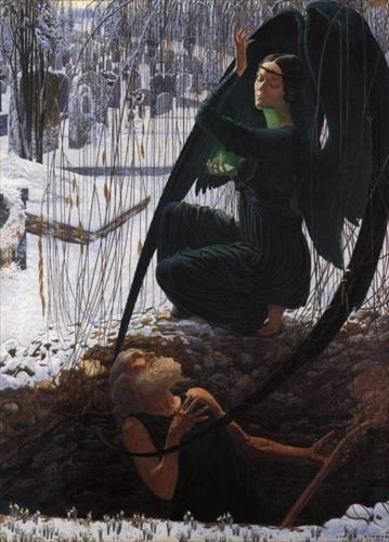 carlos schwabe la mort et le fossoyeur 1895 1900.jpg