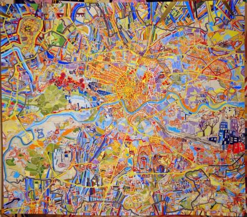 Sasha Malisz  série Maps Kraków 2010.jpg