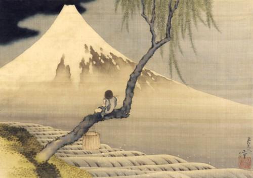 Katsushika Hokusai  Garçon regardant le mont Fuji  1839.jpg